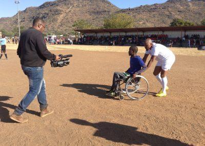 GS Thulaganyo extending a helping hand to Kopano Sekgobela