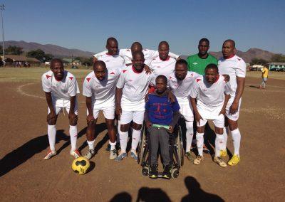 Kopano Sekgobela with Legends