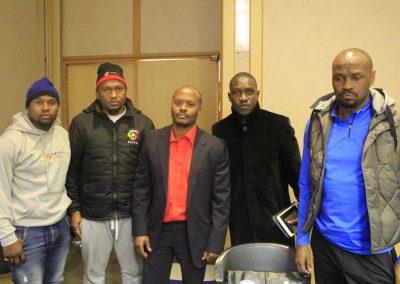 Nhlanhla Shabalala, Thulaganyo Gaoshubelwe, Simba Marumo, Tebogo Monyai, Gordon Maseko