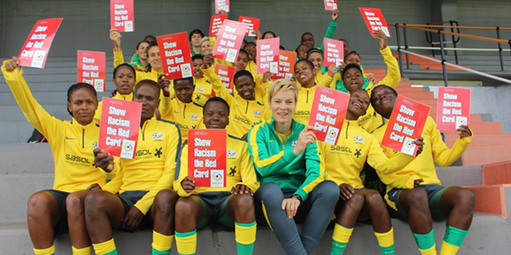 Banyana Banyana Show Racism The Red Card