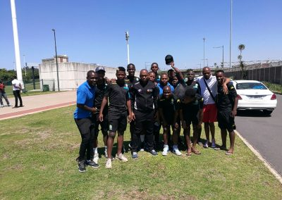 SAFPU with Amazulu Players in Durban
