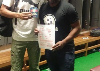 Bevan Fransman Captain of Maritzburg United Proudly Joins SAFPU.