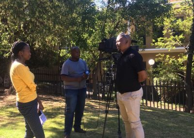 Media Coverage on ETV about Liberating the Players.