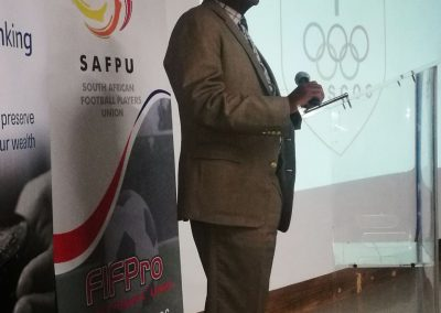 Message of support by SASCOC President Gideon Sam