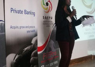 Testimony by former banyana-Banyana Maude Khumalo