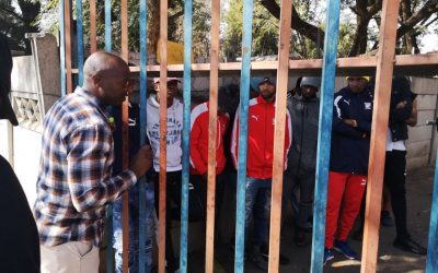 SAFPU Officials Locked Out By Jomo Cosmos.