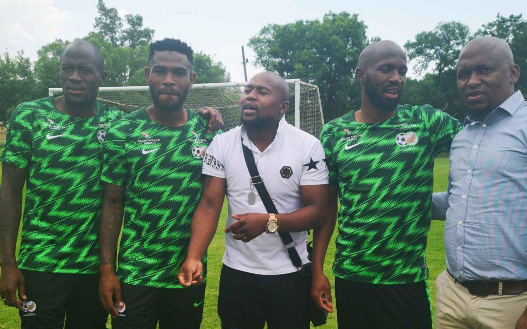 SAFPU Visits Bafana-Bafana Ahead of Seychelles AFCON Qualifier